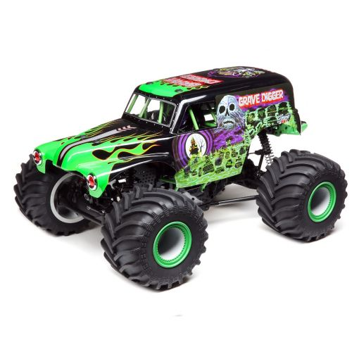 1/10 LMT:4wd Solid Axle Monster Truck, Grave Digger:RTR