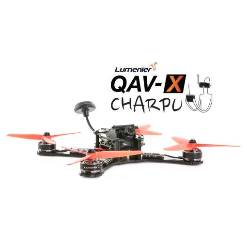 Lumenier QAV-X CHARPU FPV Racing Quadcopter (4mm)