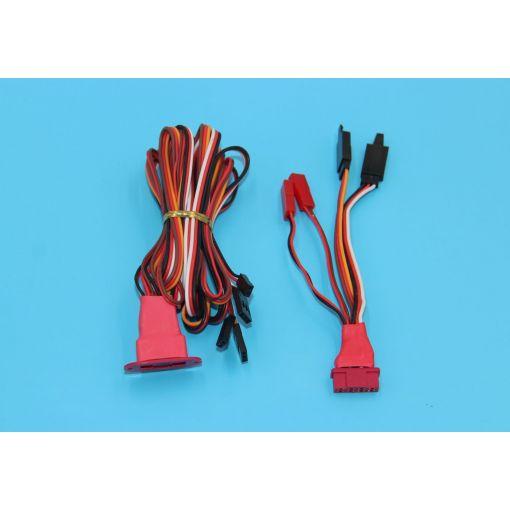 Multiplex X4 Multi wire servo connector