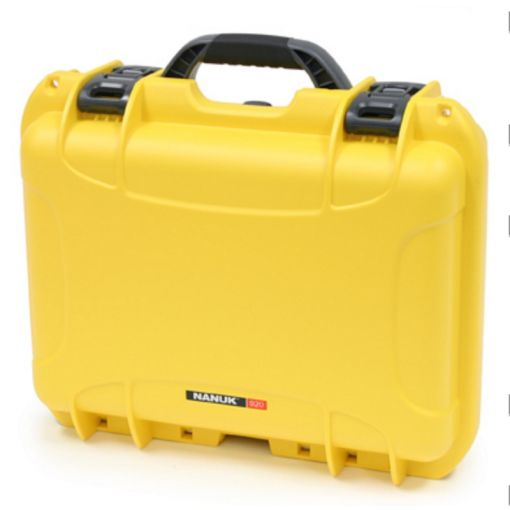 Nanuk 925 - W foam Insert - Color: Yellow