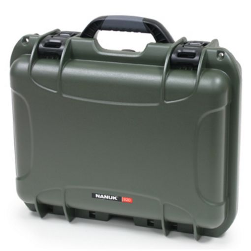 Nanuk 940 - W foam Insert - Color: Olive