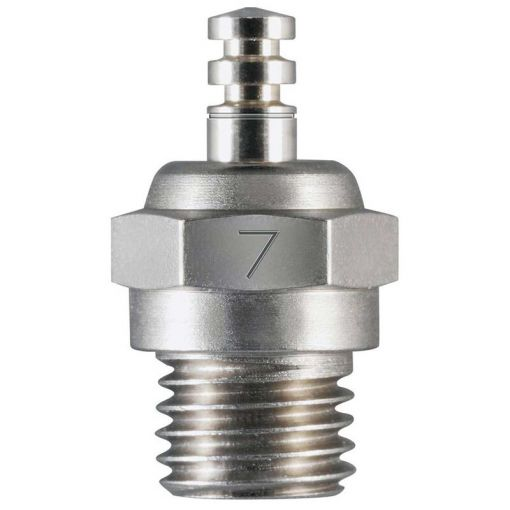 #7 Glow Plug Medium Hot Air