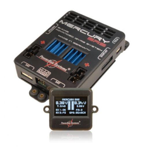 PowerBox Mercury,SRS, LCD, GPS, Sensor Switch