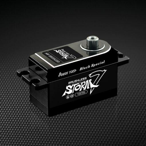 Storm-7 HV Low Profile Servo - Black