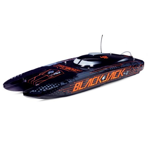 Blackjack 42-inch Brushless 8S Cat,BLK/ORG:RTR