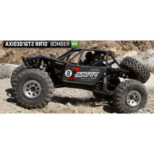 1/10 RR10 Bomber 4wd RTR Grey
