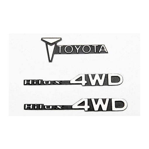 1/10 Metal Emblem for Tamiya Hilux