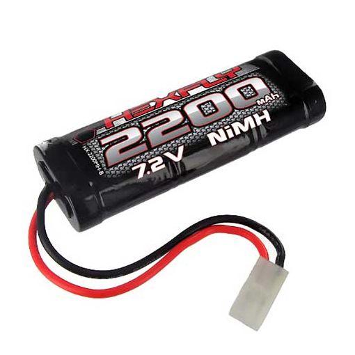 2200 NiMh Battery - 7.2V w/ Tam Conn:Rockslide