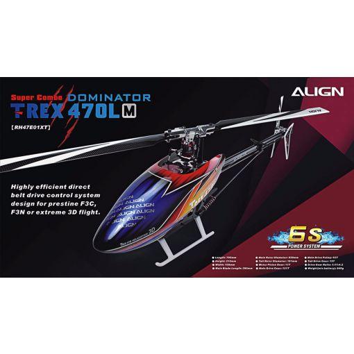 TREX470LM Dominator - Super Combo 6S
