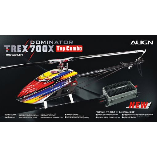TREX 700X Top Combo