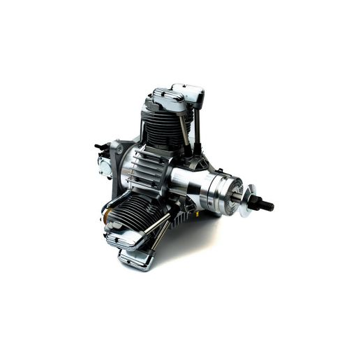 FG-84R3D 84cc 3-Cylinder Radial Gas Engine w/ Muffler
