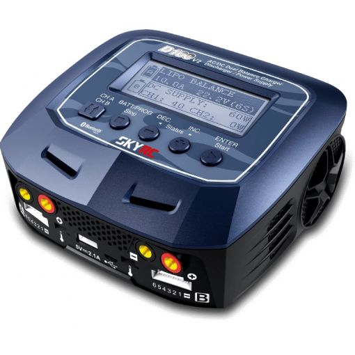 SkyRC D100 V2 Battery Charger, AC/DC, 10A, 100W