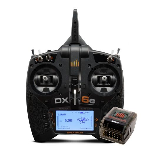 DX6e 6 Channel Transmitter Only