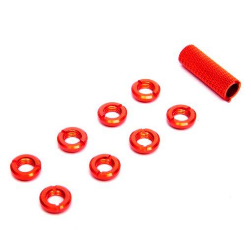 Spektrum Radio Red Switch Nuts (8) & Wrench