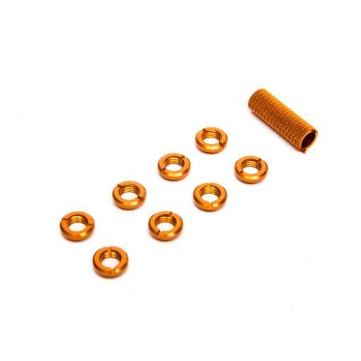 Spektrum Radio Orange Switch Nuts (8) & Wrench