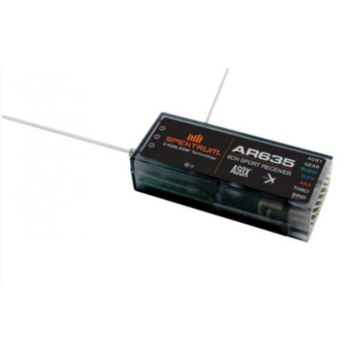 6-Channel AS3X Sport Receiver