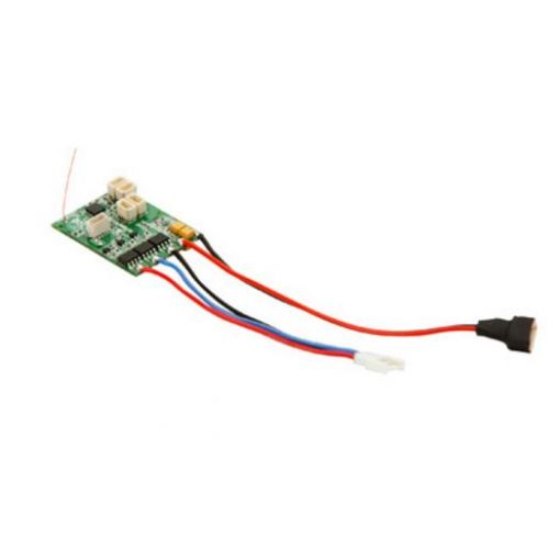 AS6410NBL DSMX 6Ch AS3X Receiver with BL ESC