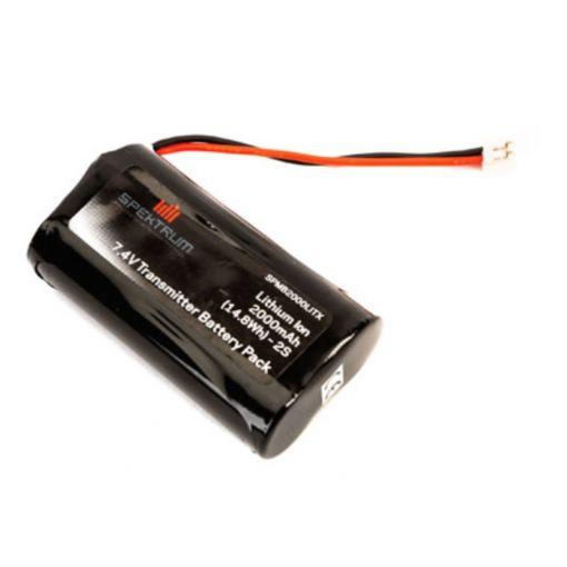 2000 mAh TX Battery: DX9, DX7S, DX8 G2