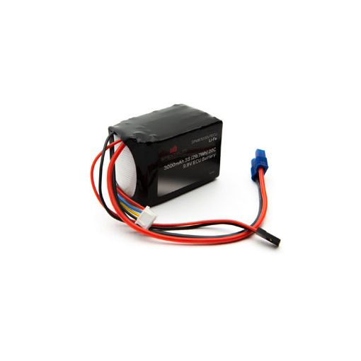 3000mAh 3S 9.9V Li-Fe ECU Battery