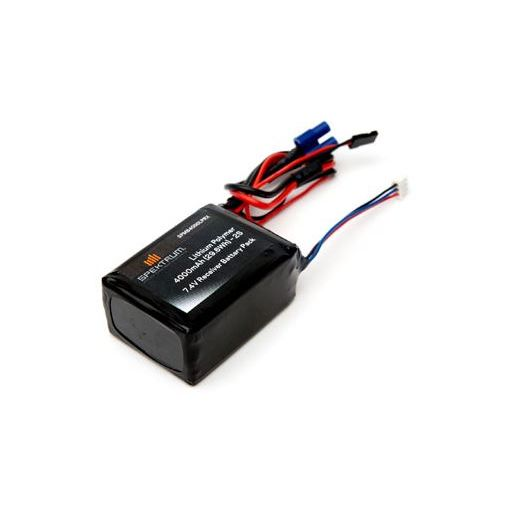 4000mAh 2S 7.4V LiPo Receiver Battery