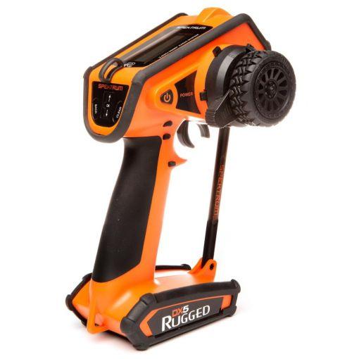 DX5 Rugged DSMR TX Only, Orange
