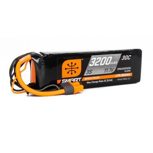3200mAh 3S 11.1V Smart LiPo 30C; IC3