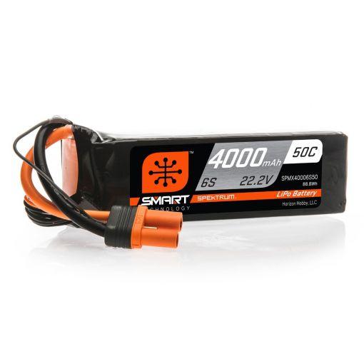 4000mAh 6S 22.2V 50C Smart LiPo Battery; IC5