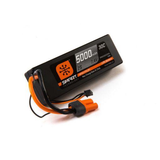5000mah 2S 7.4V Smart LiPo 30C Hardcase; IC5