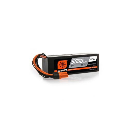 5000mAh 3S 11.1V 50C Smart LiPo Hardcase; IC3