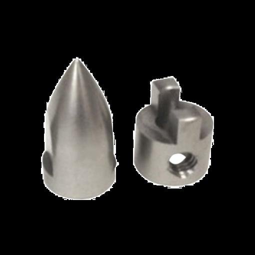 Conical Bullet M4 Prop Nut/Drive Dog Spartan