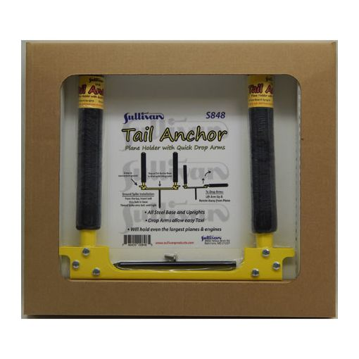 Tail Anchor, Plane Holder with Drop Arms