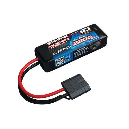 2200mAh 2S 7.4V 25C LiPo iD Connector Soft Case