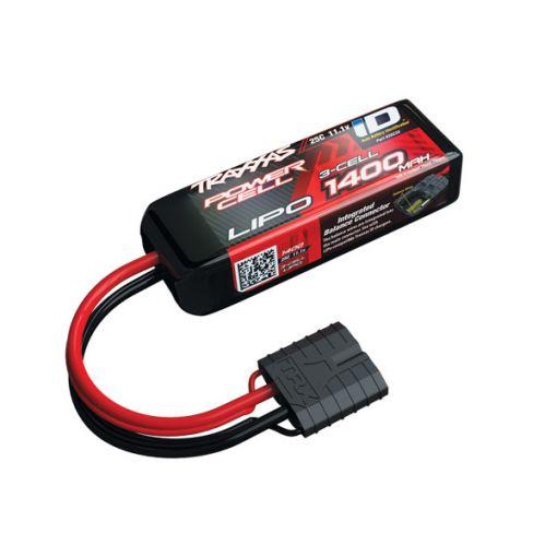 1400mAh 3S 11.1V 25C LiPo iD Connector Soft Case