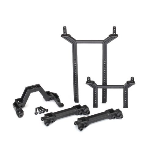Body mounts & posts, front & rear (complete set)
