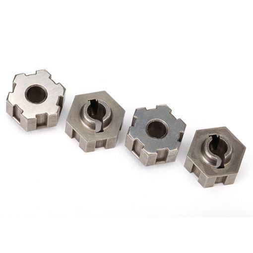 Traxxas Wheel hubs, hex, steel (4)