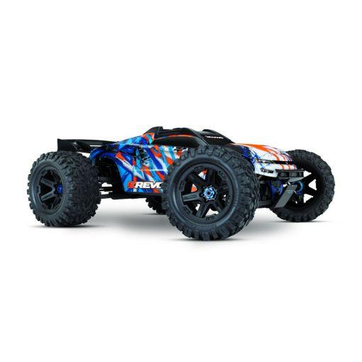 1/10 E-Revo 2 VXL-Orange: 4WD Brushless Electric Monster Truck