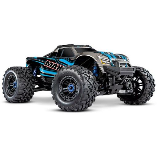 1/10 Maxx with 4S ESC - Blue 4WD Brushless Monster Truck