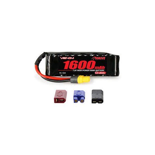 7.2V 1600mAh 6-Cell NiMH Batt UNI Plug