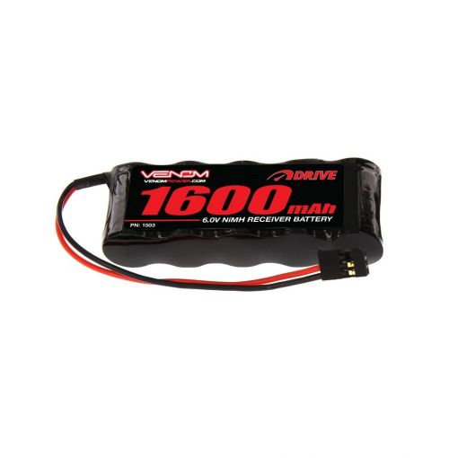 1600mah 6V NiMH Flat RX Battery