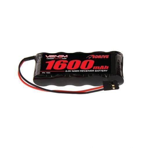 1600mah 6V NiMH Flat RX Battery