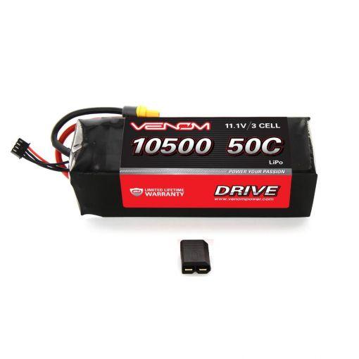 10500mAh 3S 11.1V 50C LiPo Traxxas Plug Soft Case