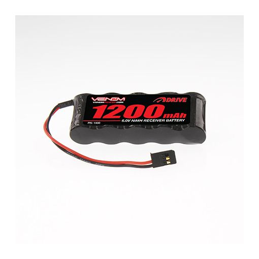 1200mAh 6V NiMH Flat Receiver Battery