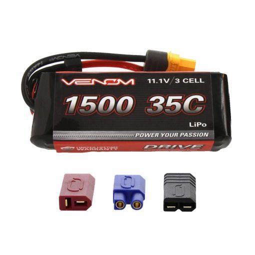1500mAh 35C 11.1V 3S LiPo UNI 2.0 Plug