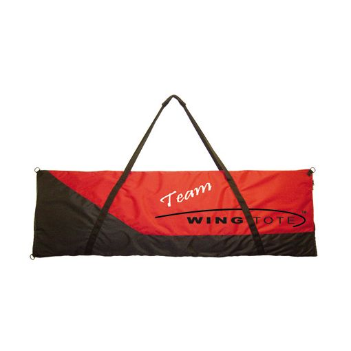 Single Wing/Tail Tote X-Small 44x16 Red/Black