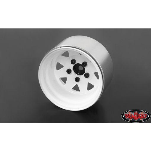 5 Lug Deep Dish Wagon 1.9 Steel Beadlock Whl,White