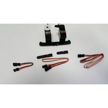 AMR 50cc Airplane Servo Pack for 7.4V High Voltage Application