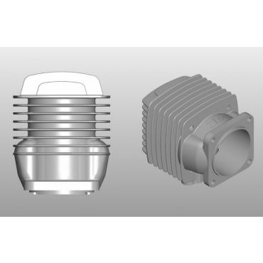 Cylinder set ( cylinder+piston ring ) - 56RV-J, 112B2RV-J, 112B2-J, 224B4-J