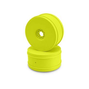 1/8 Bullet 83mm Buggy Wheel, Yellow  (4)