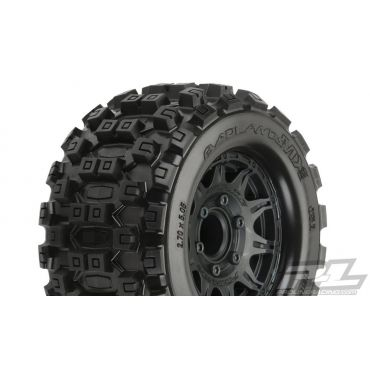 "Badlands MX28 2.8"" MTD Raid Black 6x30 F/R"