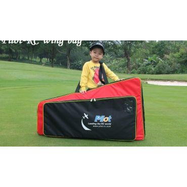 Wing bag for 60cc plane RED/BLACK